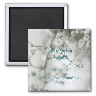 Purity Save The Date Magnet