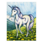 Purity - Unicorn Fantasy Art Postcard