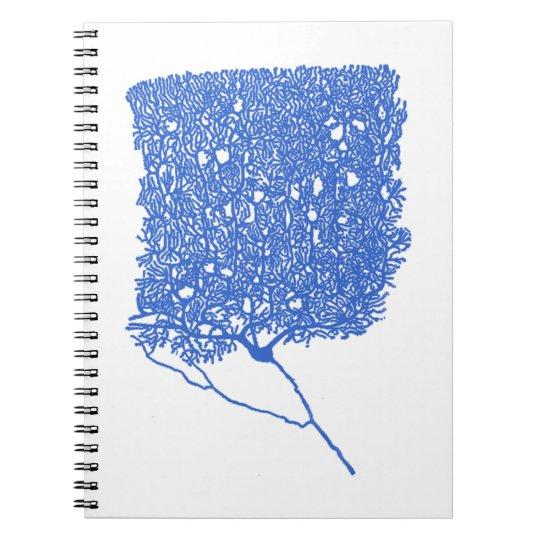 Purkinje Cell Spiral Notebook