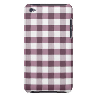 Purpe Table Cloth Pattern Barely There iPod Cases