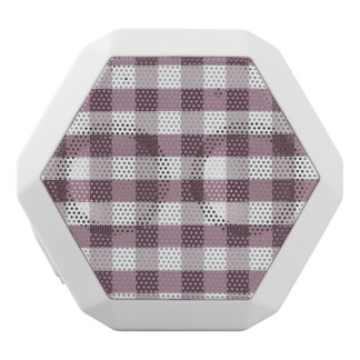 Purpe Table Cloth Pattern White Boombot Rex Bluetooth Speaker