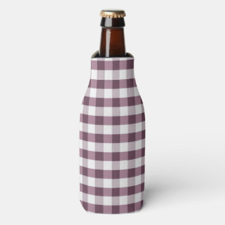 Purpe Table Cloth Pattern Bottle Cooler