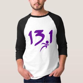 Purple 13.1 half-marathon tees