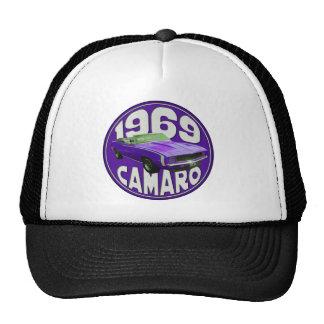 Purple 1969 Camaro Super Sport Cap
