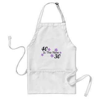Purple 40 is the New 30 Standard Apron