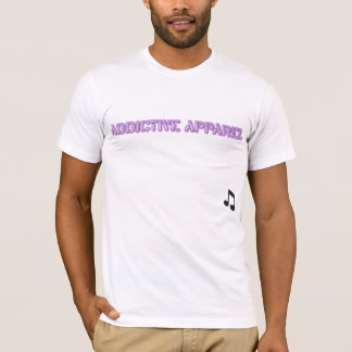 Purple AA Logo Univ. Mens T T-Shirt