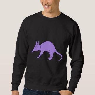 Purple Aardvark Pull Over Sweatshirts