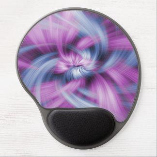 Purple Abstract Art Gel Mouse Mat