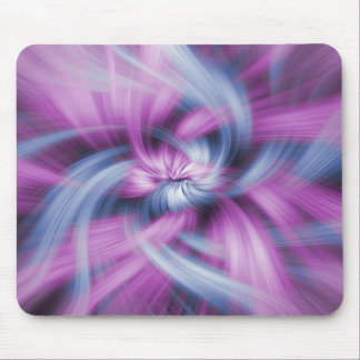 Purple Abstract Art Mouse Pads