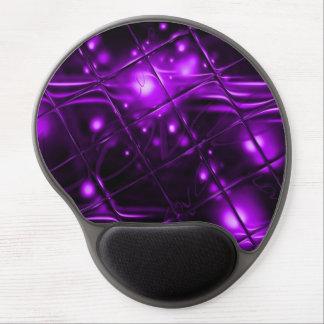 Purple Abstract Design Gel Mousepads