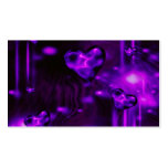 Purple Abstract Hearts Pack Of Standard Business Cards