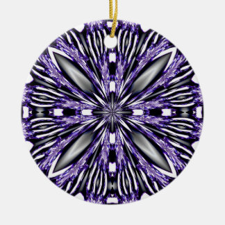 Purple Abstract Ornament