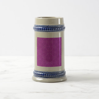 purple abstract pattern coffee mug