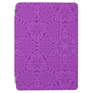 Purple abstract pattern iPad air cover