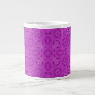 purple abstract pattern jumbo mugs