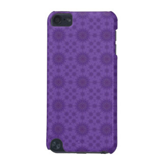 Purple abstract pattern of wood iPod touch 5G case