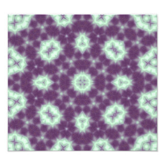 Purple Abstract Pattern Photo Art