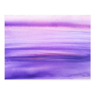 Purple abstract post cards