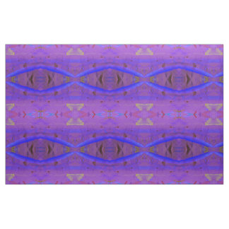 Purple abstract wall hanging fabric