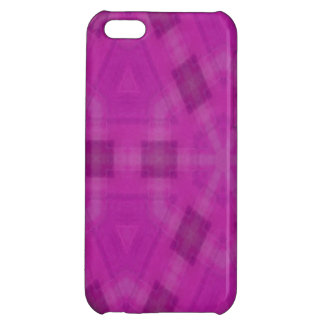 Purple abstract wood Pattern Cover For iPhone 5C