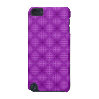 Purple Abstract wood pattern iPod Touch 5G Covers