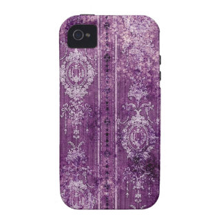 purple aged wallpaper iPhone 4/4S cover