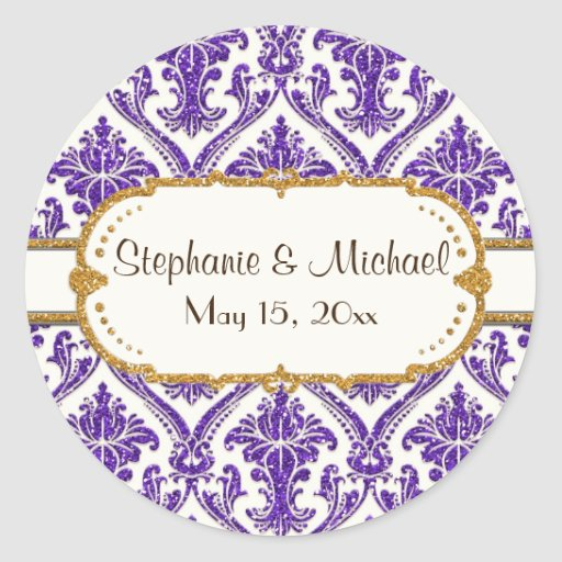 purple-AJR-SDH-DAMASK-WHITE-glitter-NG2.jpg Sticker