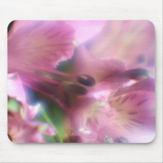 Purple Alstroemeria  Mouse Pad