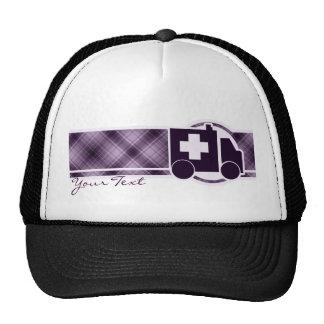 Purple Ambulance Trucker Hat