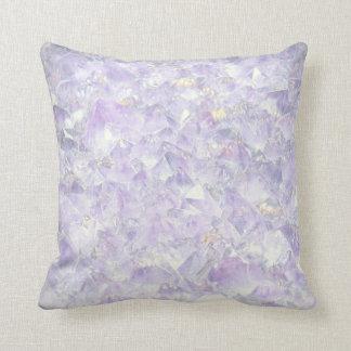 Purple Amethyst design Cushion