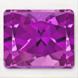 Purple Amethyst February Gifts by Sharles Mouse Mat