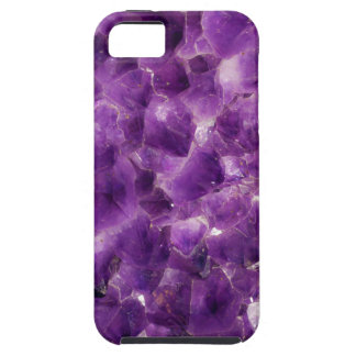 Purple Amethyst Gemstone Rock February Birthstone iPhone 5 Cover