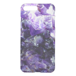 Purple amethyst iPhone 7 plus case
