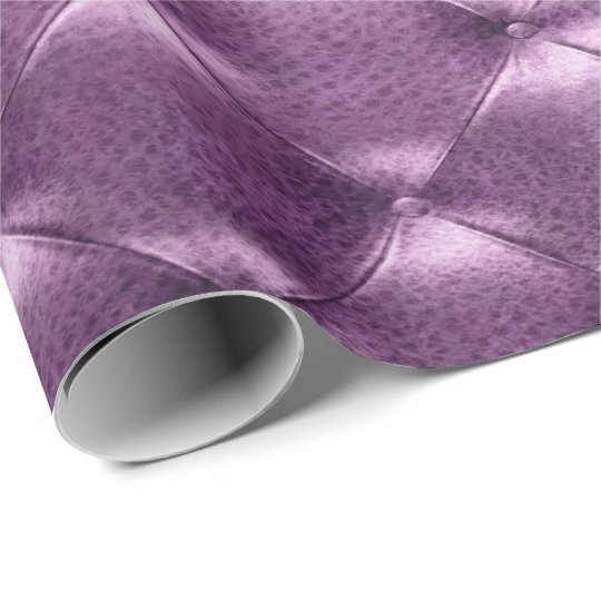 Purple Amethyst Luxury Opulent Tufted Leather VIP Wrapping