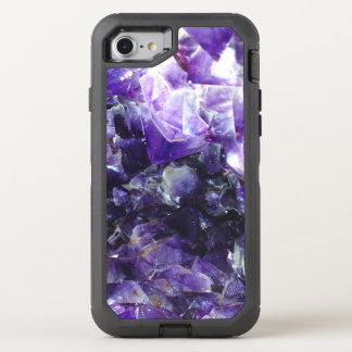 Purple amethyst OtterBox defender iPhone 8/7 case