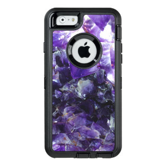 Purple amethyst OtterBox iPhone 6/6s case