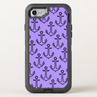 Purple Anchor iPhone 8/7 Otterbox Case