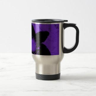 Purple and Black Daffodils Mug