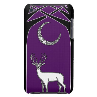 Purple And Black Deer In The Forest Celtic Art Case-Mate iPod Touch Case