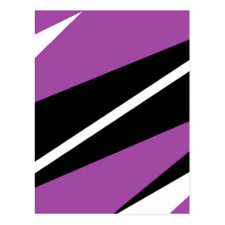 purple and black post cards
