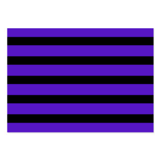 Purple and Black Stripe Customizable Design Things Business Card