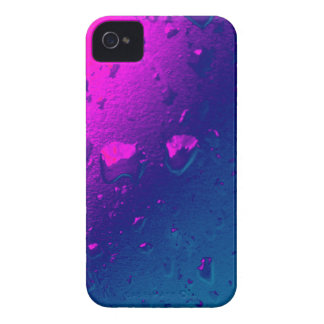 Purple and Blue Abstract Design Case-Mate iPhone 4 Case