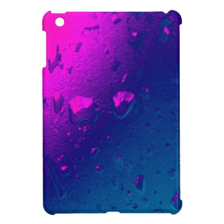 Purple and Blue Abstract Design iPad Mini Case
