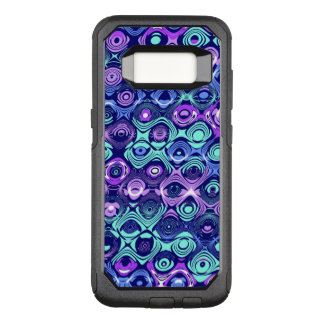 Purple and blue abstract Samsung S8 Otterbox case