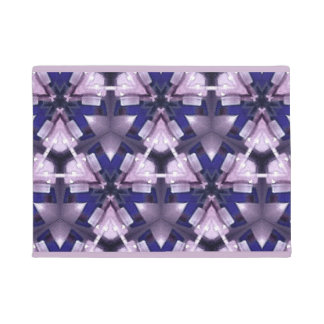 Purple and Blue for You Doormat