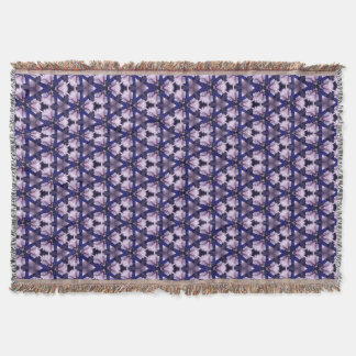 Purple and Blue for You Throw Blanket