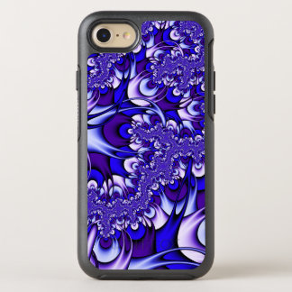 Purple and Blue Fractal OtterBox Symmetry iPhone 8/7 Case