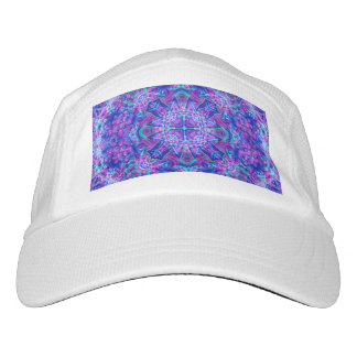 Purple And Blue Kaleidoscope Hat