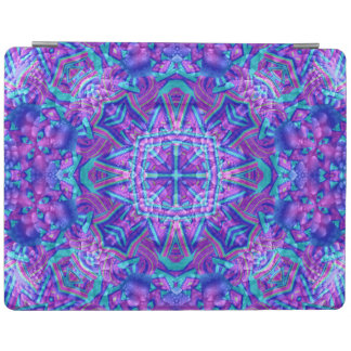 Purple And Blue Kaleidoscope iPad Smart Covers iPad Cover
