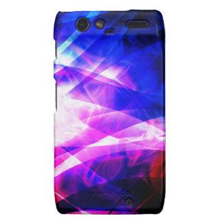Purple And Blue Kaleidoscope Motorola Razr Case